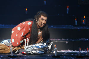 Masachika Ichimura as Macbeth